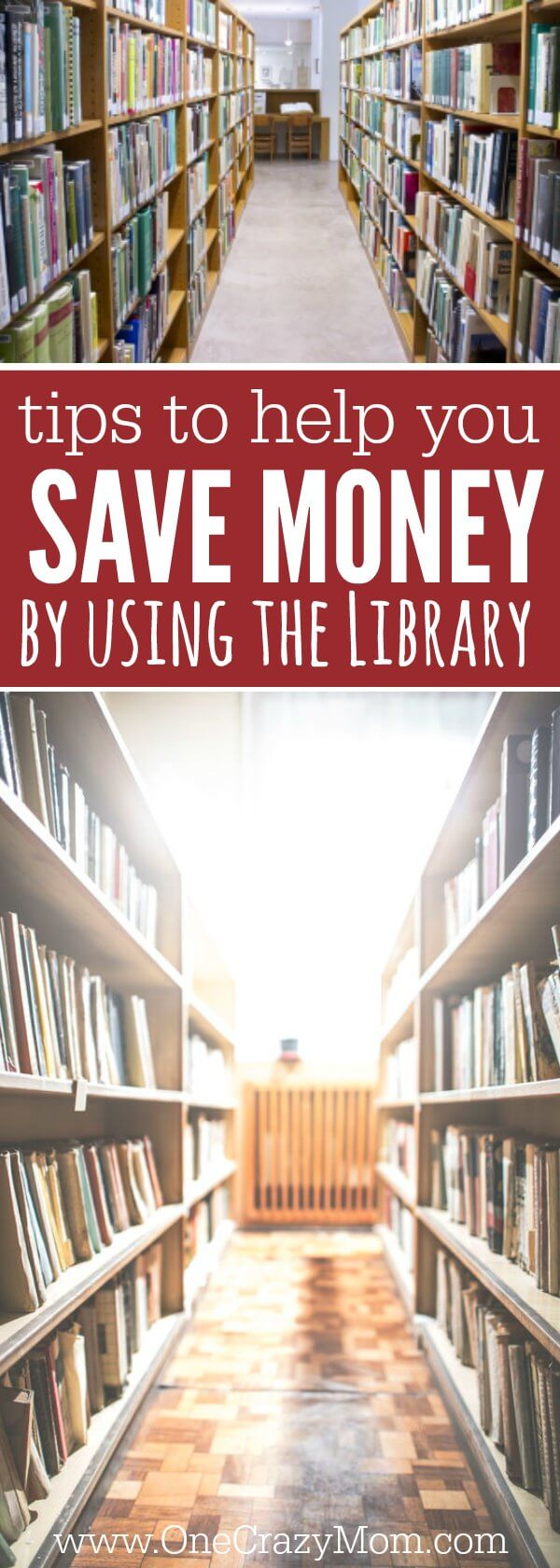 Find out how to save money by visiting your public library. 3 Tips to save money at your city library. How to save money by using your city library! The public library has books, movies and more!