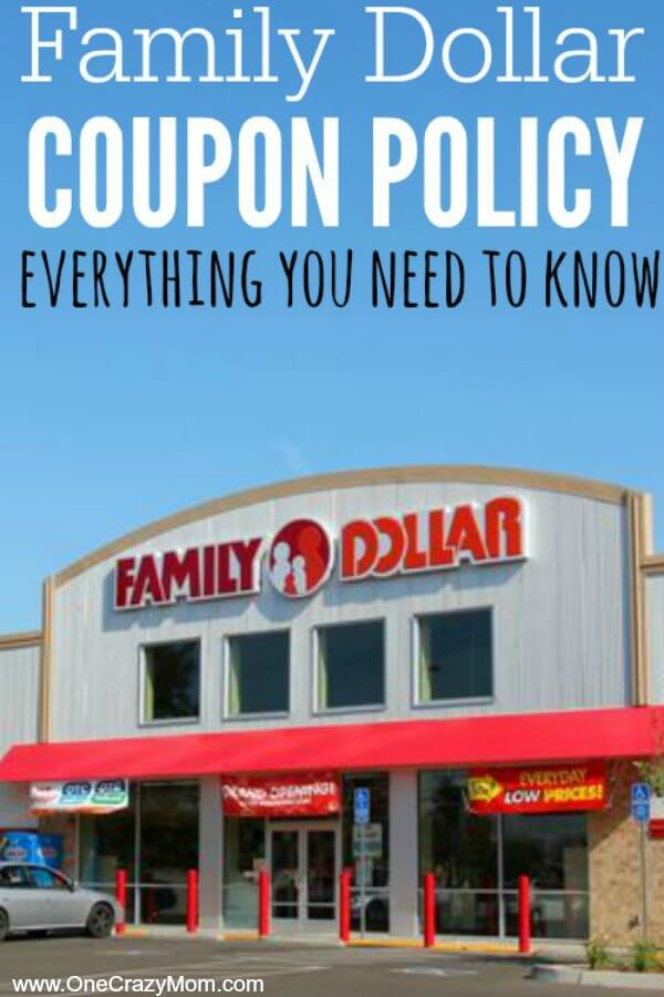 You will easily understand the Family Dollar coupon policy after you read our how to shop at Family dollar guide. The family dollar coupon policy is actually easy to understand. You will save a lot using Family dollar coupons. You can also use Family dollar smart coupons and Family dollar digital coupons.