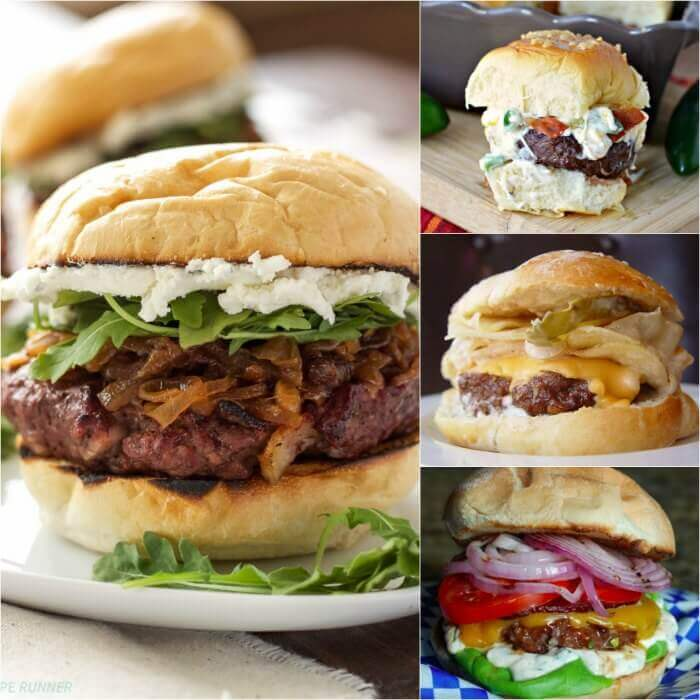 Try the best burger recipes! 35 of the best juicy burger recipes that you will love. Find the best grilled burger recipe from beef, poultry and meatless! There is a burger for everyone!