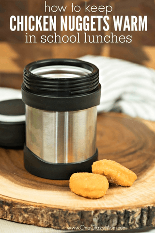 Learn how to keep chicken nuggets warm in school lunchbox. This simple tip will make packing lunches a breeze. It's quick and easy!