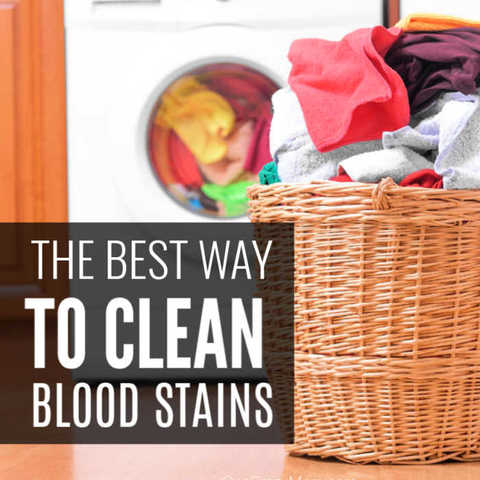 Learn how to remove blood stains quickly and easily. Save your kids clothes by using these tips to remove blood stains. You only need 2 simple ingredients.