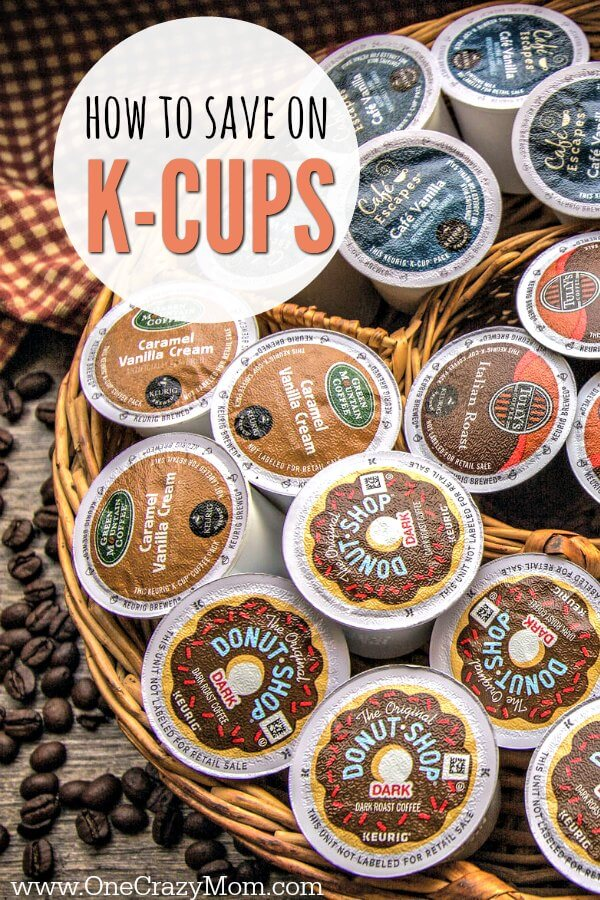 How to save money on K-cups. 4 of the best ways to save money on k-cups. K-Cups money saving tips to help you save on your favorite coffee.