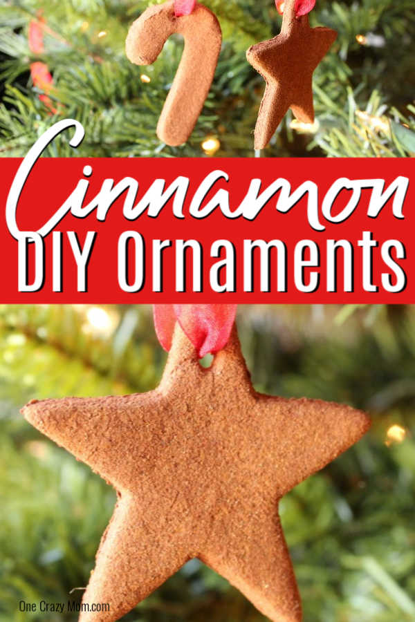 These Cinnamon Ornaments are so easy to make and they smell amazing. Your family will love making these cinnamon applesauce ornaments each year!