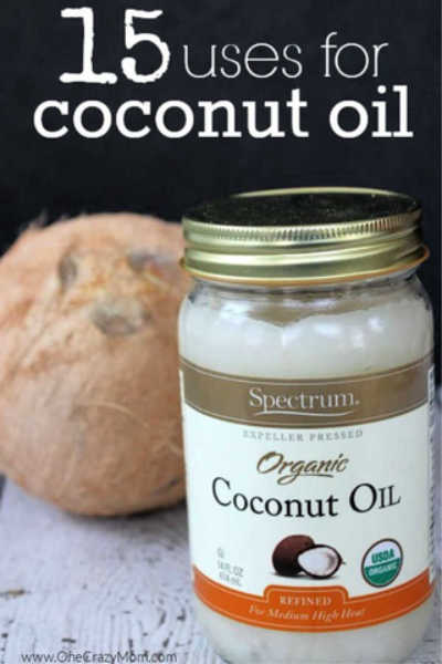 Here are 15 easy coconut oil uses that will help you in the kitchen and with your beauty. Many of these ways to use coconut oil may surprise you.
