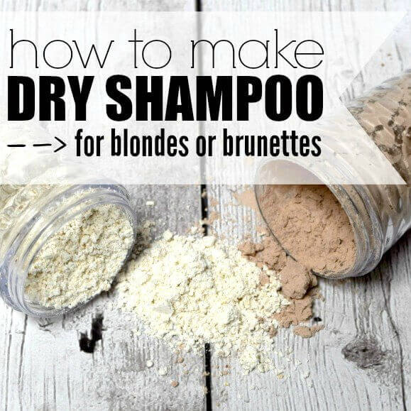 Whether you are blonde or brunette, we have the perfect DIY Dry Shampoo for you to try. Don't pay too much for dry shampoo when you can make this at home.