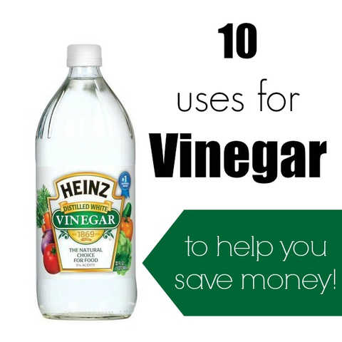 10 Amazing Vinegar uses You Have to Try