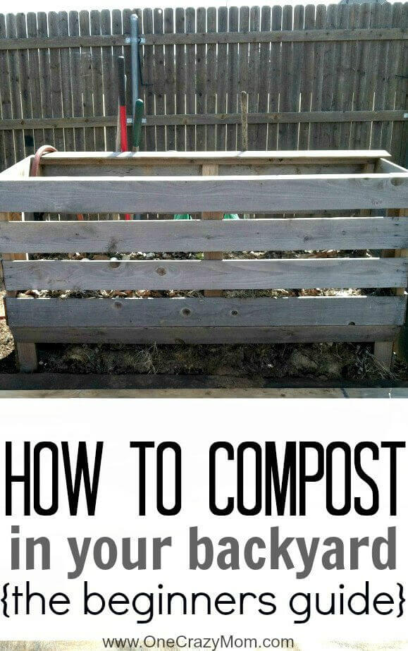 how to make your own compost pile at home
