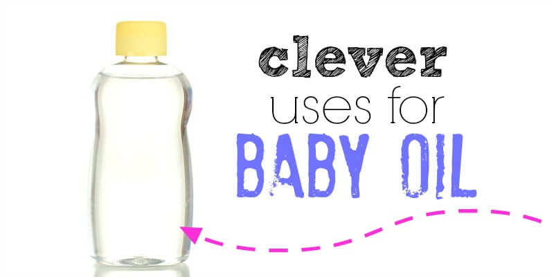 Here are some clever uses for baby oil that actually might save you money. Instead of buying over priced products try these different baby oil uses. 20 ideas you will love!
