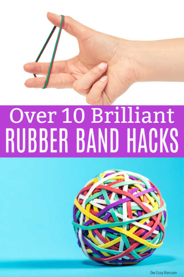 Here are 10 fun Rubber Band Hacks you probably haven't thought of. These Rubber Band Hacks may change the way you use rubber bands.