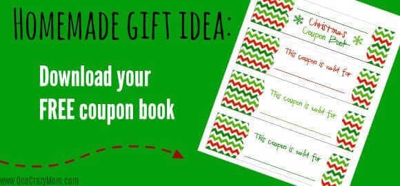 Give the gift of thoughtfulness with a free Christmas coupon book printable. Homemade Christmas coupons are perfect for those on your list that have it all.