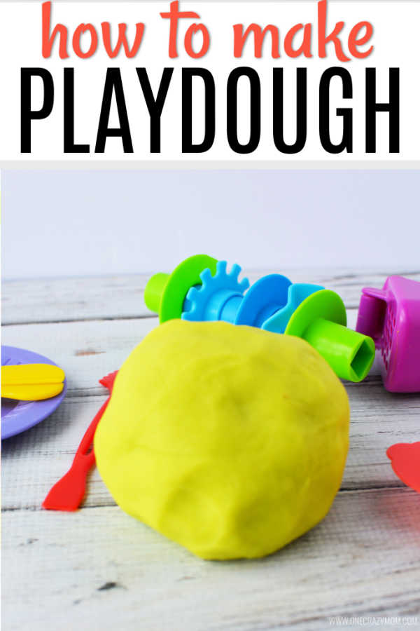 Try this simple Homemade Playdough recipe. You can learn how to make Homemade Playdough in under 15 minutes with this easy recipe. The kids can even help!