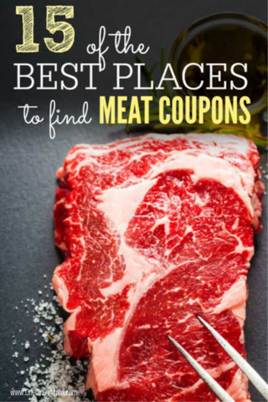Reduce your grocery budget by learning where to find meat coupons.  Save money on meat when you know the best places to find coupons for meat.