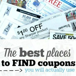 Top 6 Best Places to Find Coupons