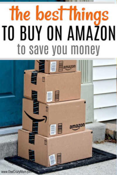 Find out the best things to buy on Amazon. We have a list of things to buy on Amazon to save money and time! 10 things to buy on Amazon.
