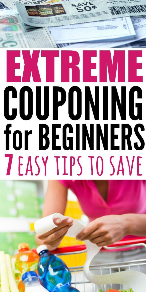 Anyone can learn how to do extreme coupon. Read this Extreme Couponing for Beginners guide. You will find out how to extreme coupon. Learn how to coupon for beginners in just a few easy steps!