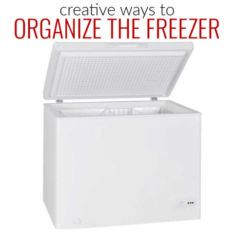 We have 10 creative ways to organize your freezer. Give these easy and frugal freezer organizer ideas a try. Budget friendy and simple to do!