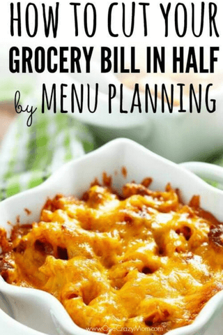 Here are 8 powerful tips for Saving Money on Groceries by Menu Planning. Learn how to save money on groceries by menu planning. Find out how to save money on food!