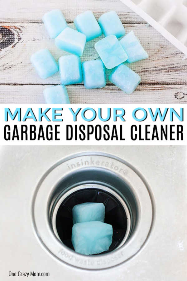 Do you ever walk past your kitchen sink and catch a not so pleasant odor? We have an easy homemade garbage disposal cleaner with just 3 ingredients!