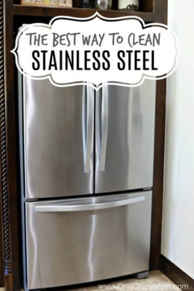 Learn How To Clean Stainless Steel. Cleaning Stainless Steel Only Takes One  Easy Step.