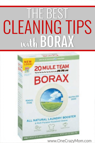 Here are some easy and frugal tips for cleaning with borax. It is much cheaper and easier than you think. Check out these tips for cleaning with borax.