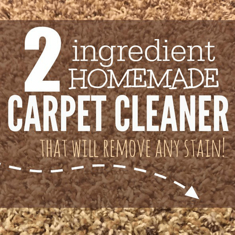 Homemade Carpet Cleaner – only 2 ingredients