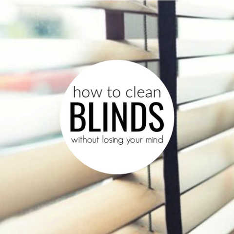 How to clean blinds easily – 5 easy ways