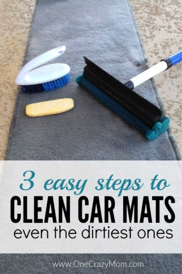 Learn how to clean car mats in 3 easy steps. This tip is very frugal and will have your car looking great. Give it a try!