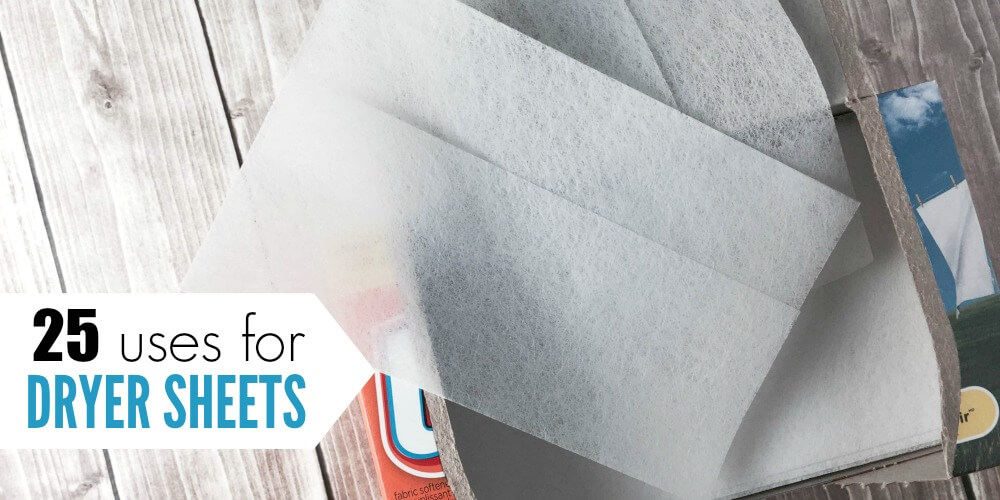 Here are some clever uses for dryer sheets to help you save money around the house. These other uses for dryer sheets are some you might not have thought of. 27 uses for fabric softener sheets.