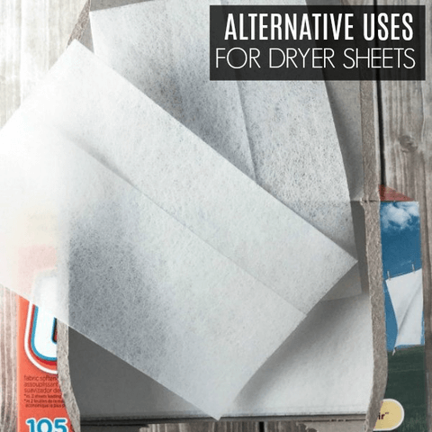 27 Alternative Uses for Dryer Sheets
