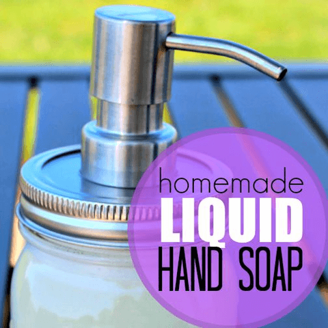 Easy Homemade Hand Soap