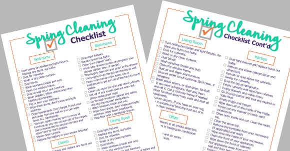 Are you ready to start Spring cleaning? Get this free spring cleaning checklist printable to help get you started and ensure you do not overlook anything!