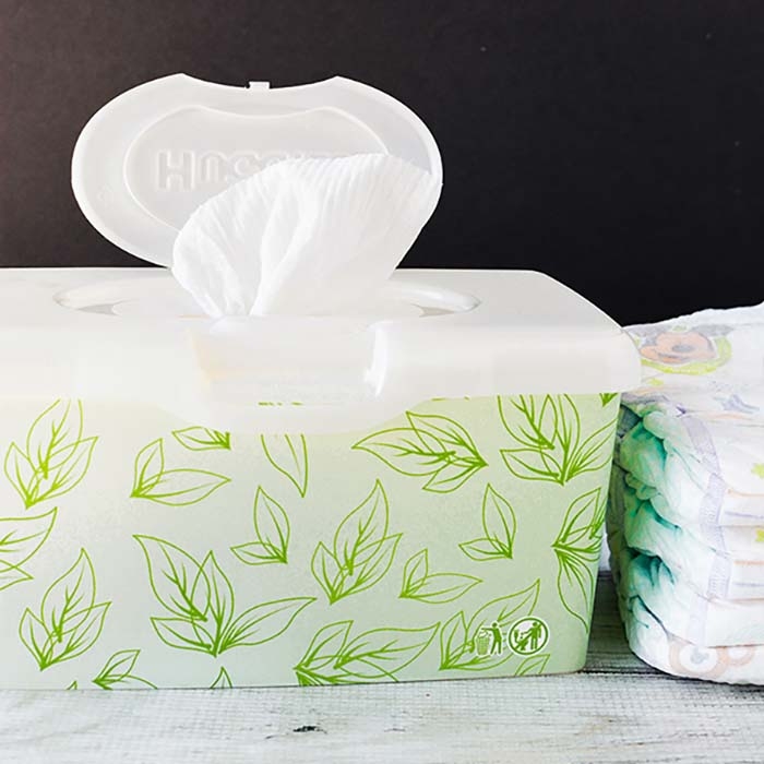 DIY BABY WIPES - Learn How to make your own baby wipes easily at home. These easy natural diaper wipes are frugal and much better for your children.