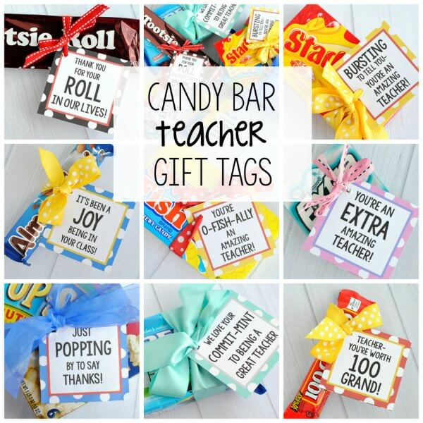 Here are the best teacher appreciation gift ideas. Teachers will love these diy teacher appreciation gifts! These are the best teacher appreciation week ideas that you can give to your teachers anytime during the year. Creative and cheap teacher appreciation gifts!