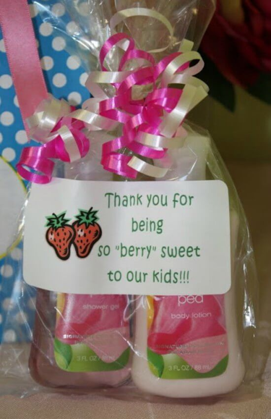 Teacher appreciation gift ideas - 25
