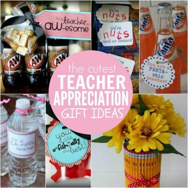 Over 25 Different Frugal Teacher Appreciation Gift Ideas