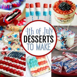 Delicious 4th of July Dessert Recipes
