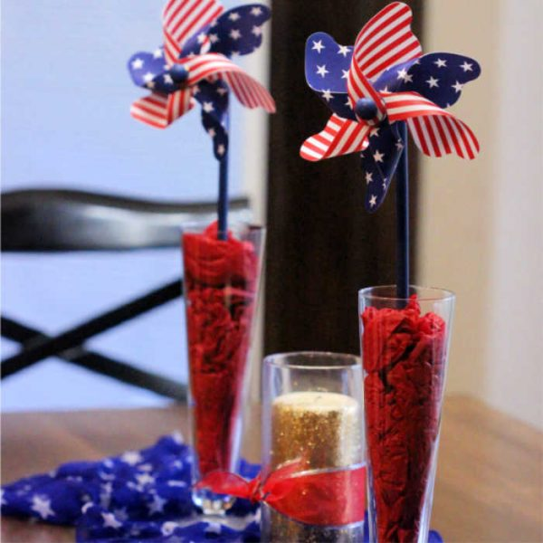 4th of July Decorations – Easy 4th of July Centerpiece