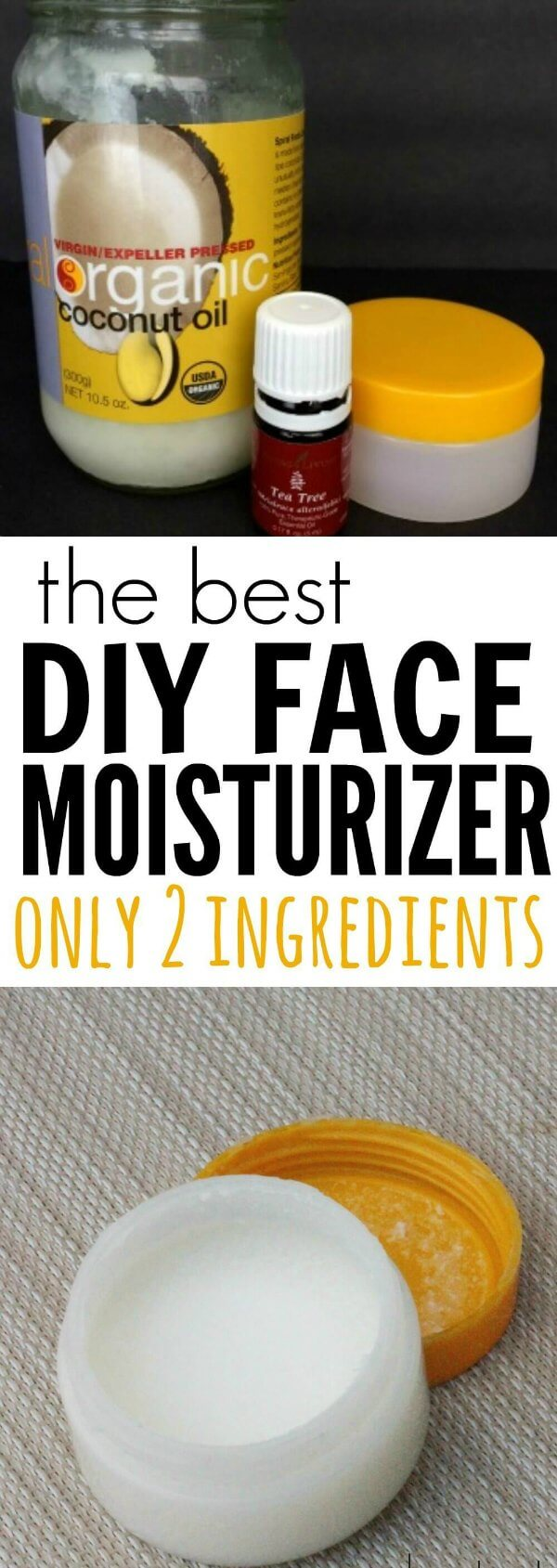 You are going to love this DIY face moisturizer. With only 2 ingredients anyone can make this DIY face cream. I promise you are going to love this easy and frugal DIY moisturizer. It is the best homemade face moisturizer. Try this homemade moisturizer today!