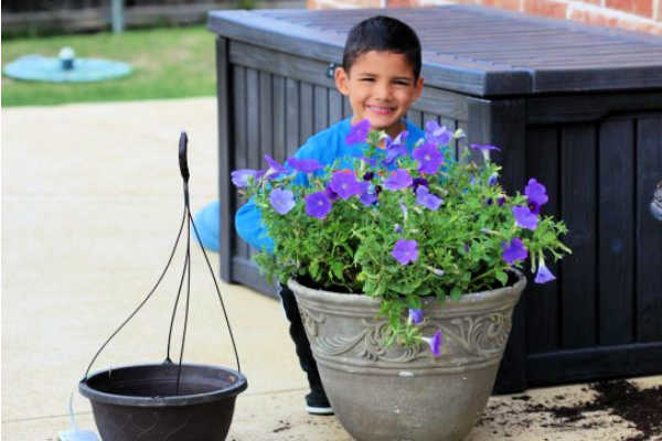 Learn how to save on flowers with just a few easy tips. Your yard will look gorgeous this Spring and Summer.Try these simple and frugal flower pot ideas.