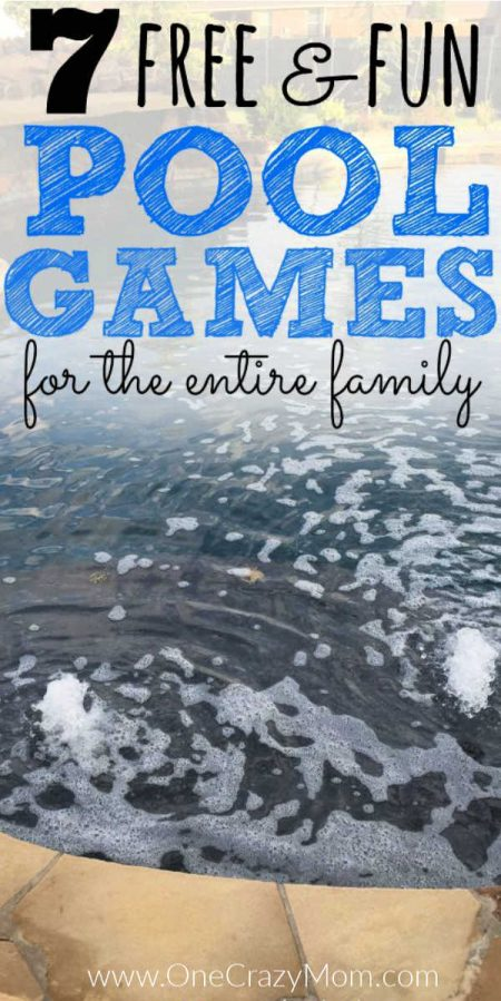 We have some great Swimming Pool Games that won't cost a thing. These games are great for all ages and your entire family will have a blast.