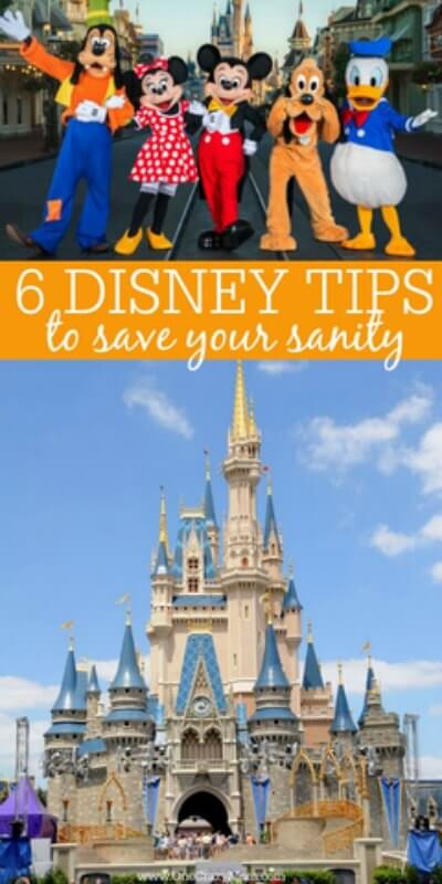 Learn 6 of the best Disney World Tips sure to make your vacation a success. These Disney tips will save your sanity. Find tips for Disney World here that will make this the best vacation. We have the best tips for Disney World to save time and money.