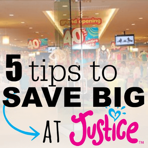 5 Tricks for Saving on Clothes from Justice for Girls!