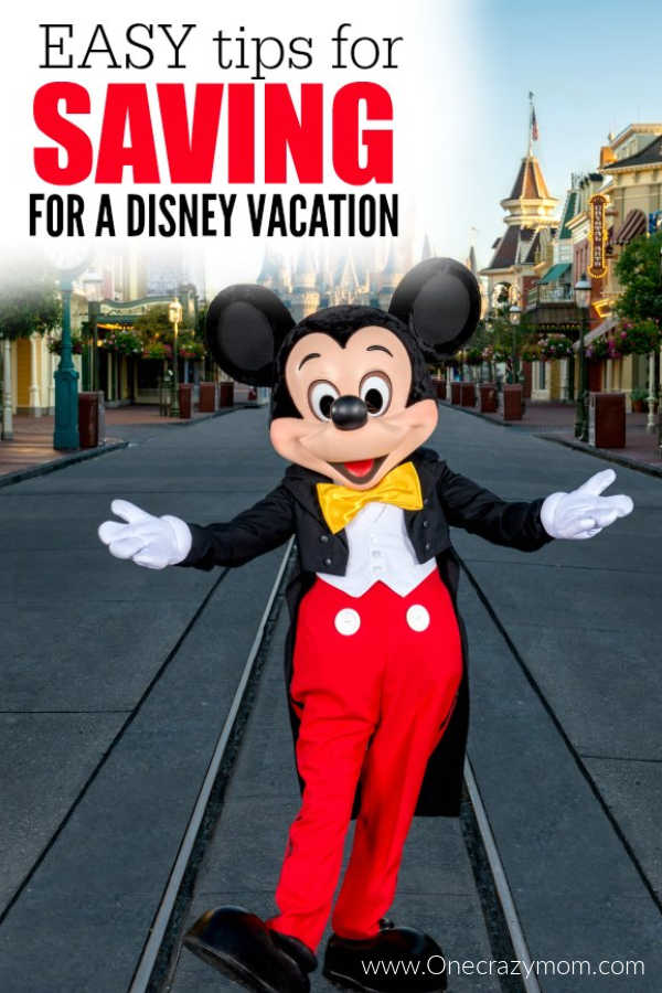 Try these tips for Saving for Disney World Vacation. Saving for a Disney vacation isn't as hard as you might think. These tips help you pay for your trip.