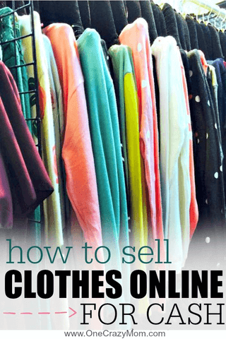 Learn how to sell clothes online easily to make money. Here are 5 tips to show you how to sell clothes online to make extra money. These are the best way to sell clothes online!