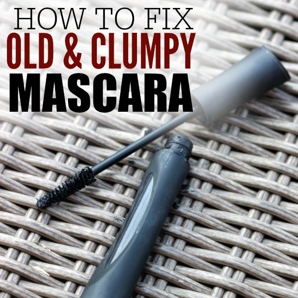 Learn how to fix dry mascara in just a few easy steps. Save money when you learn how to revive mascara. This tip is so quick and easy!