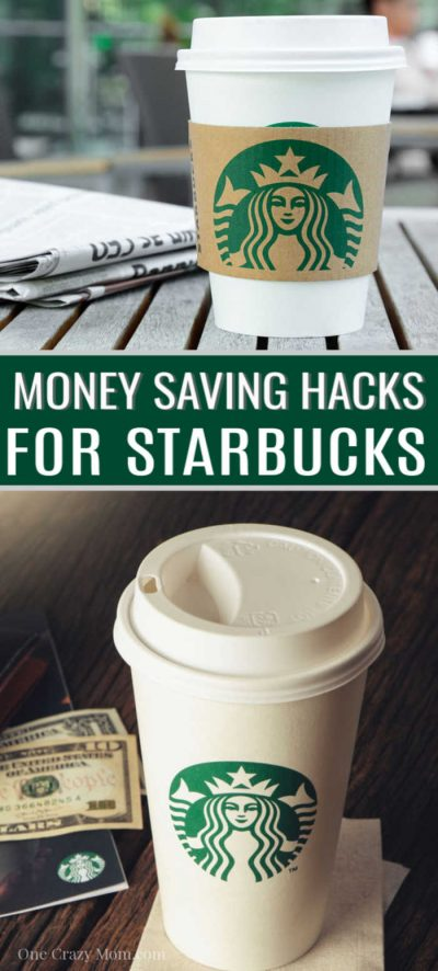 Try 10 money saving Starbucks hacks to get your coffee fix for less. Enjoy your favorite Starbucks beverage when you learn how to save money at Starbucks.