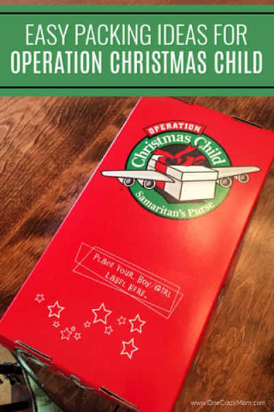 We have a huge list of Samaritan's Purse Operation Christmas Child Gift Ideas. This list is is divided by age to make packing a box simple and easy.