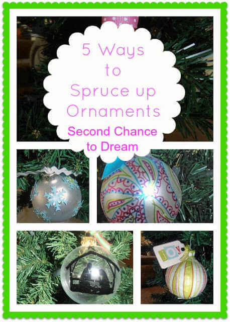 We've rounded up over 30 Easy Homemade Christmas Ornaments. These DIY ornament ideas are simple to make and many use what you already have. Try these fun DIY craft ideas! Your kids will love making these easy handmade ornaments for Christmas! #onecrazymom #christmasornaments #DIYornaments