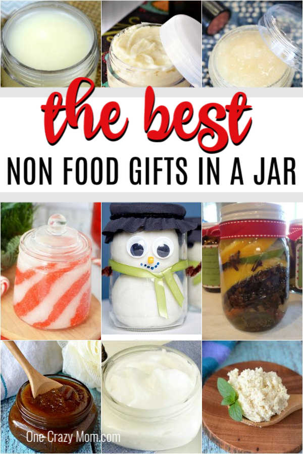 Find 15 of the best Non food gifts in a jar that are easy to make and budget friendly. These gifts in a jar ideas are perfect for Christmas and more.