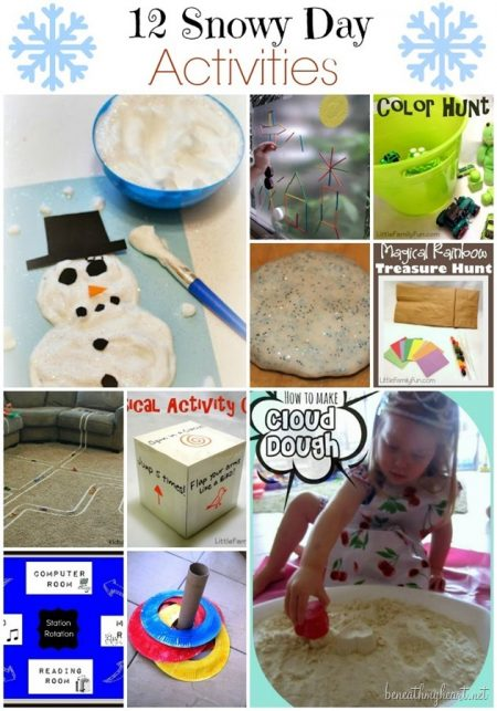 We have 30+ indoor activities for kids that are fun, easy and perfect for the family. Try theseboredom busters for kids to keep them busy.